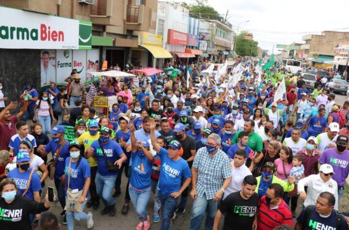 Henri Falcón: El voto es la única vía para cambiar la realidad del estado Lara - octubre 15, 2021 10:54 am - NOTIGUARO - Locales