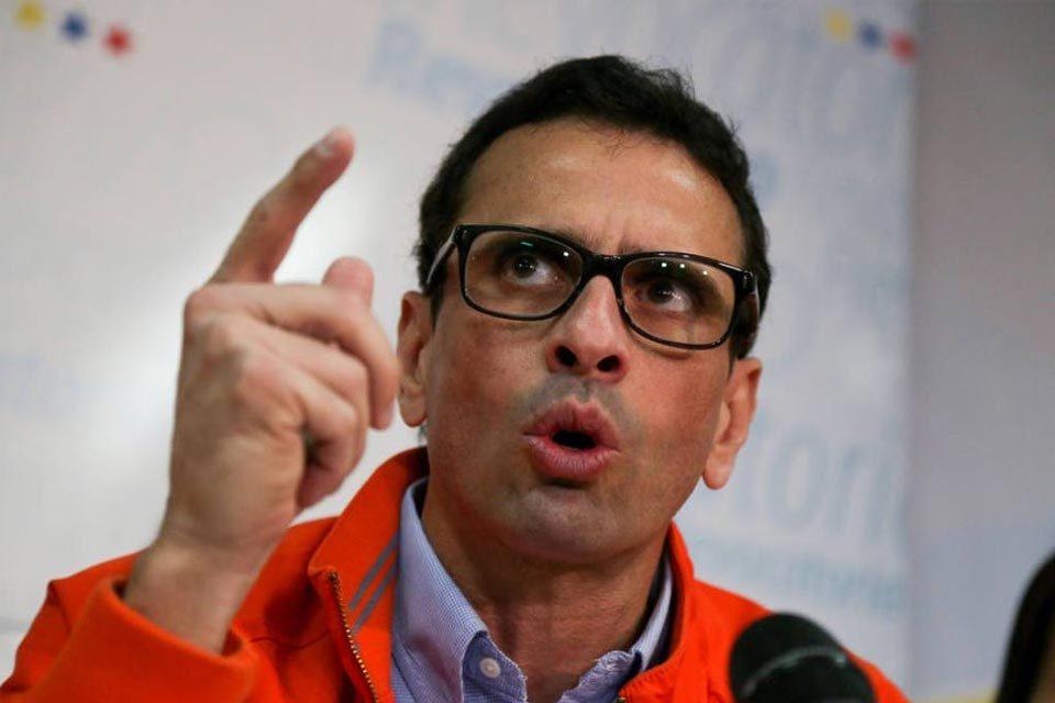 Capriles: La dispersión de los votos está siendo mortal para la oposición - octubre 20, 2021 6:21 pm - NOTIGUARO - Nacionales