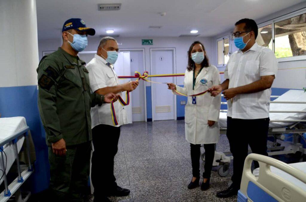 Barquisimeto: Área de atención Covid-19 del Hospital Pediátrico fue inaugurada - octubre 1, 2021 11:12 am - NOTIGUARO - Locales