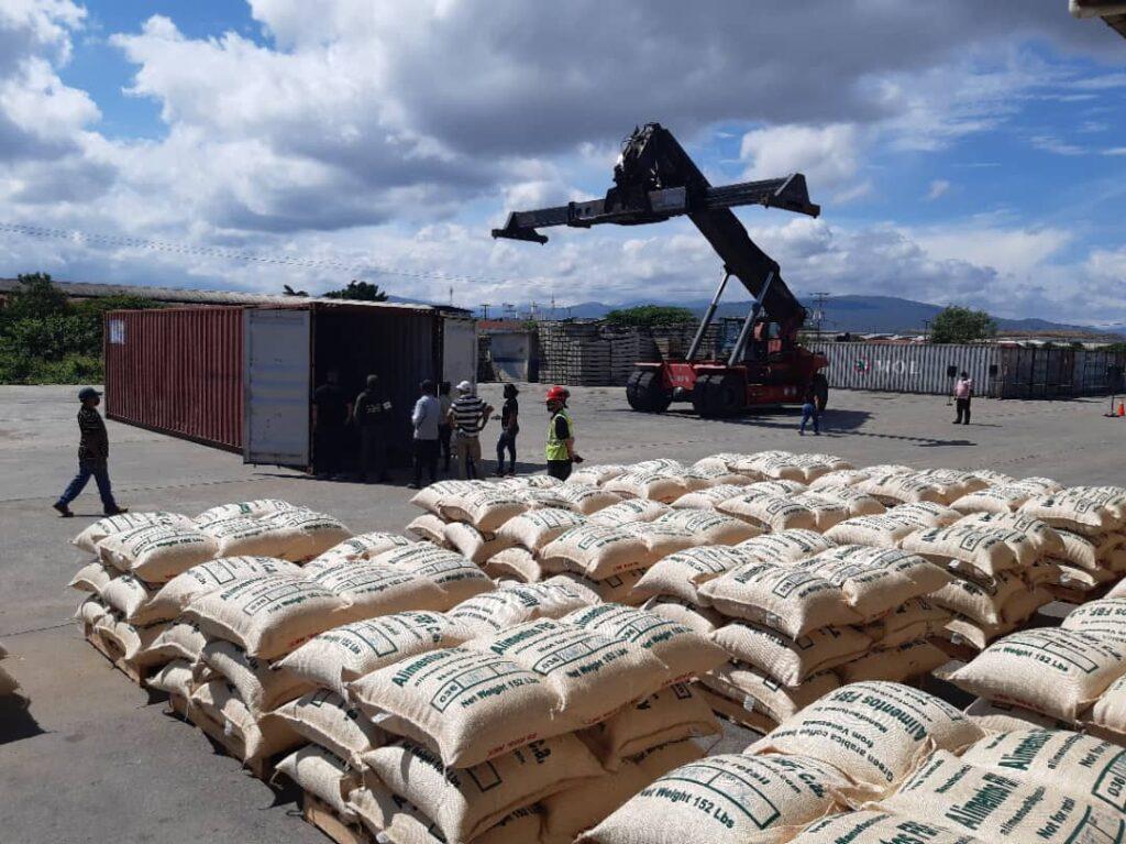 Desde Lara segunda exportación de café verde rumbo a EEUU - octubre 13, 2021 5:00 pm - NOTIGUARO - Locales