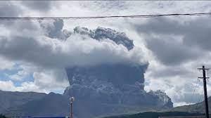 El Volcán más activo del mundo: Monte Aso entró en erupción al sur de Japón - octubre 20, 2021 4:47 pm - NOTIGUARO - Internacionales