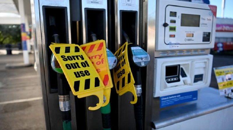 Reino Unido: Militares empezarán a distribuir gasolina este lunes por falta de transportistas - octubre 3, 2021 11:34 am - NOTIGUARO - Internacionales