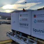 ¡Otro lote! 822 mil dosis de vacunas Sputnik V llegaron a Venezuela