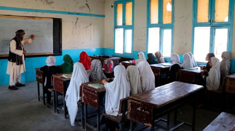 """Afganistán: Talibanes permitirán """"pronto"""" a todas las niñas regresar a las escuelas - octubre 18, 2021 4:56 pm - NOTIGUARO - Internacionales"""