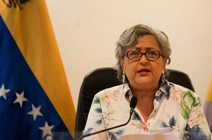 Tibisay Lucena nueva ministra de Educación Universitaria - octubre 19, 2021 6:34 pm - NOTIGUARO - Nacionales