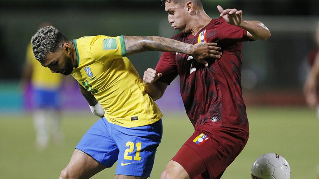 Vinotinto cae ante Brasil 3 goles por 1 y se aleja cada vez más de Catar 2022 - octubre 8, 2021 2:33 pm - NOTIGUARO - Deporte