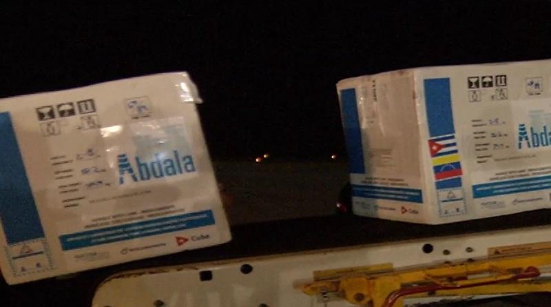 Venezuela: Llegan 900 mil dosis de vacuna cubana Abdala para inmunizar a 300 mil personas - octubre 4, 2021 2:04 am - NOTIGUARO - Nacionales