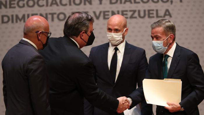 Cuarta ronda de negociación entre el Gobierno y la oposición de Venezuela iniciará el 15 de octubre en México - octubre 8, 2021 7:40 am - NOTIGUARO - Venezuela.